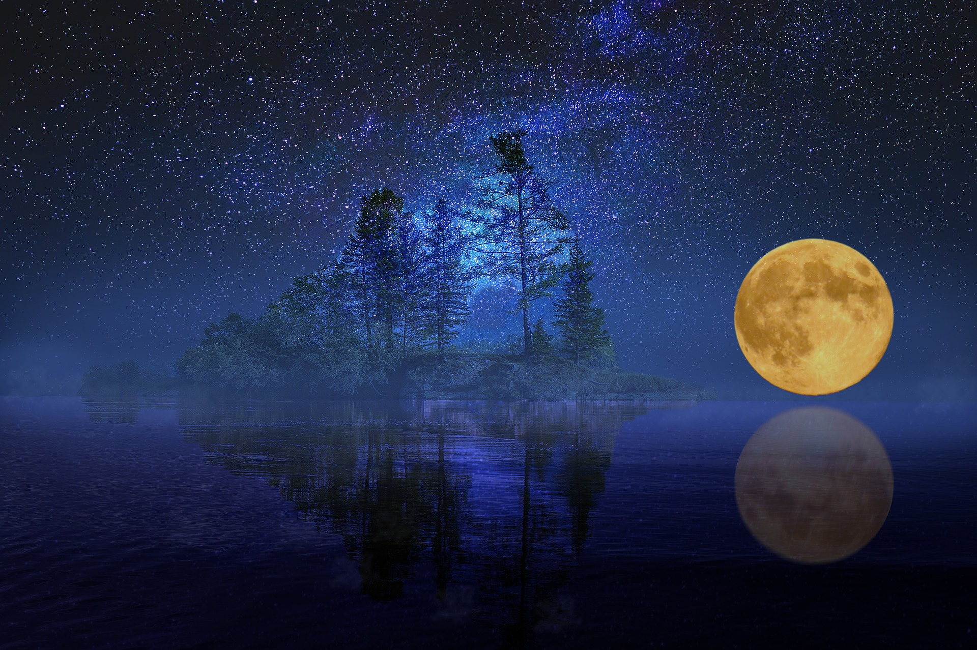 Full Moon Party at Martinak State Park