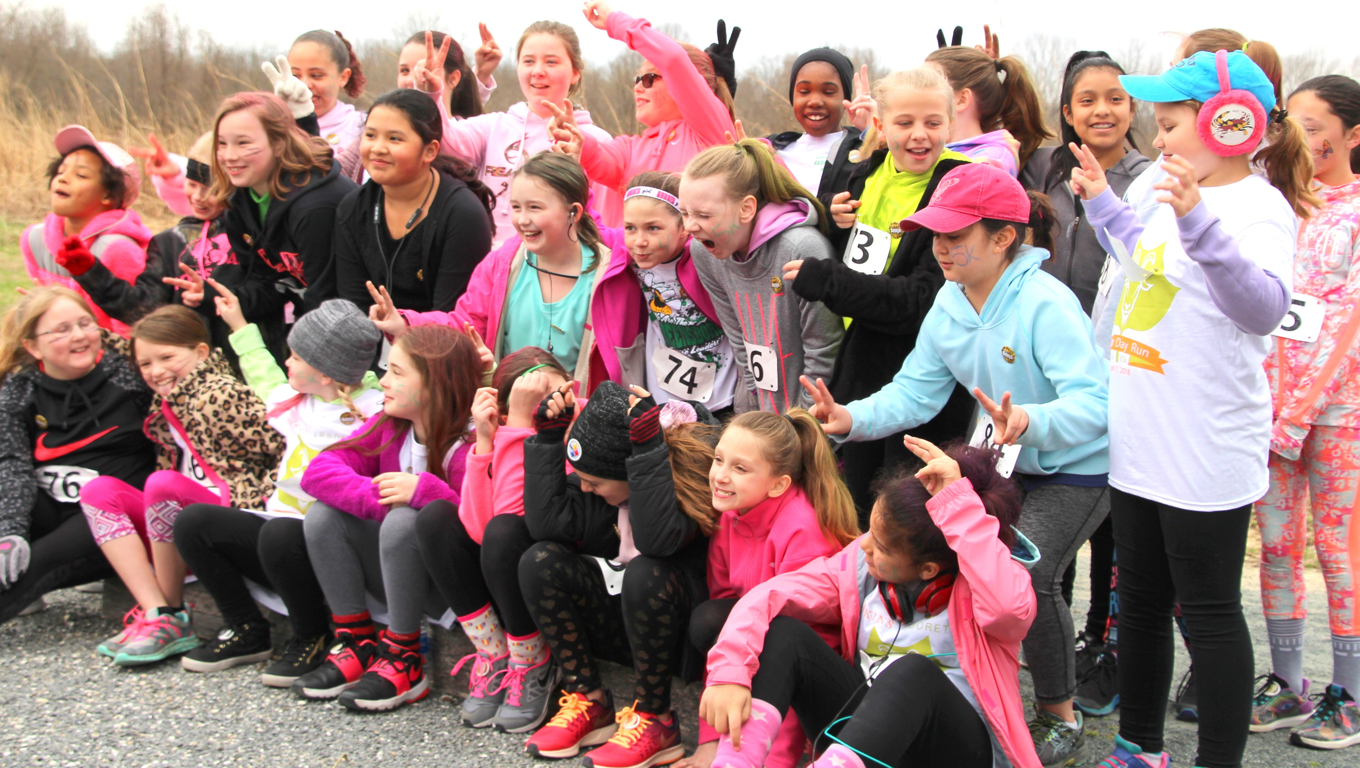 Hustle for the Herd April 6 at Adkins Arboretum's Arbor Day Run