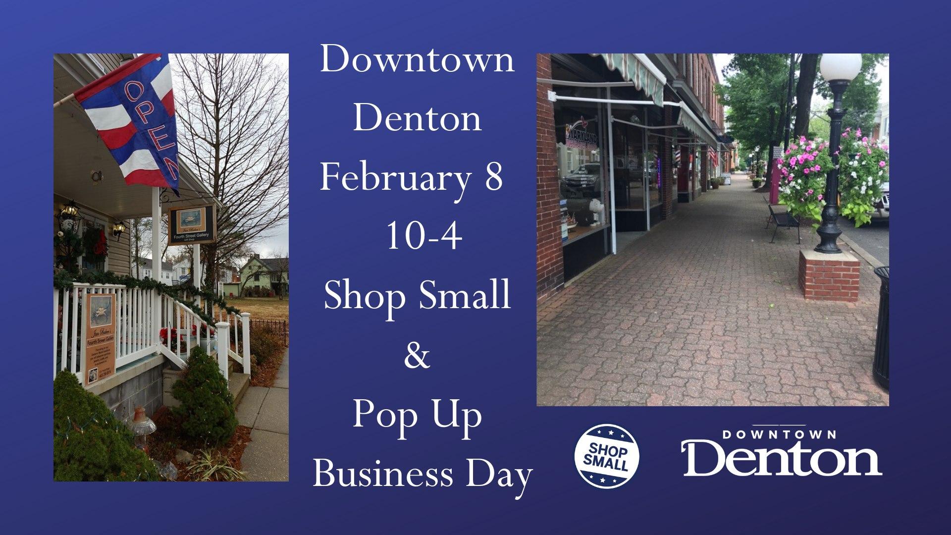 Denton's Shop Small Passport Day & Pop Up Business Event