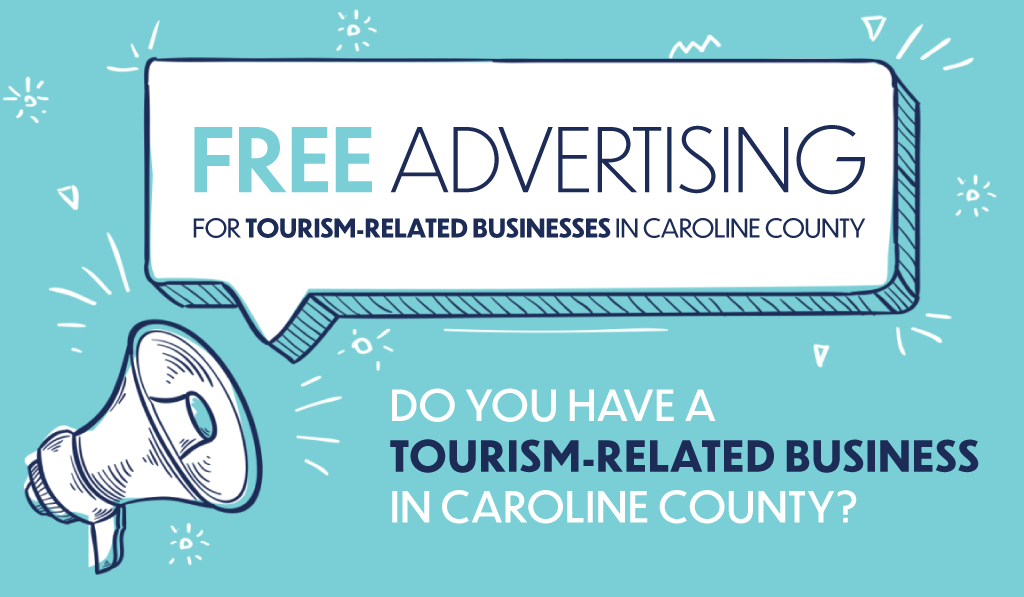 Free Advertising for Tourism Businesses in Caroline County