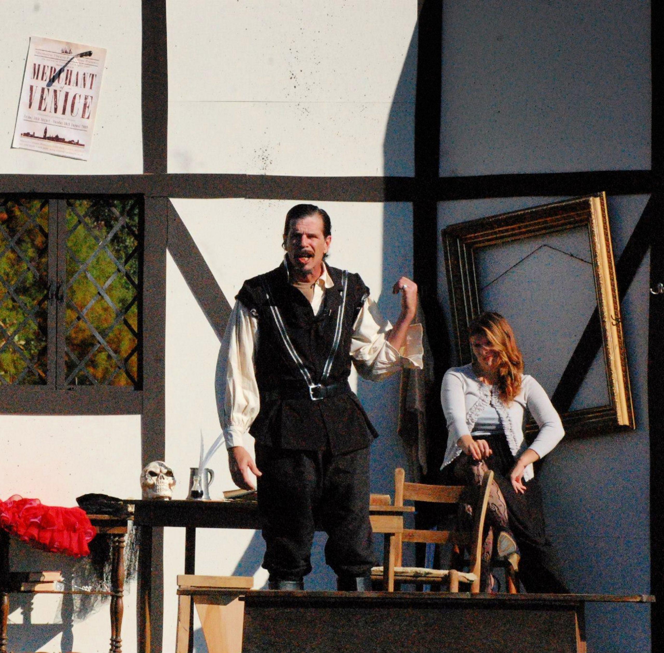 Shore Shakespeare to BringA Little Touch of Shakespeareto Adkins Arboretum